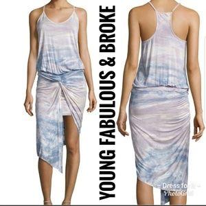 Young Fabulous and Broke NWT Kulani Twist Dress S